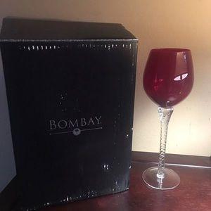 New Burgundy/red wine glasses 4